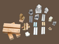 MATERIAL SOLID KIT