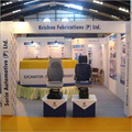 Exhibition Stalls with Lightings