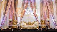 Gold Carving Furniture Set for Wedding