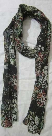 Cotton Flower Printed Stole