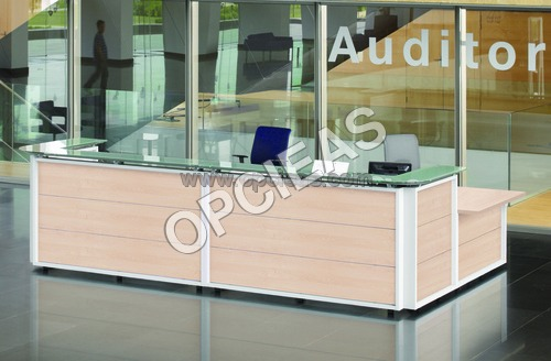 Reception desk/ Counter.
