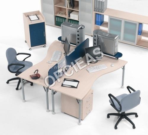 Office desk, Chairs, Racks etc