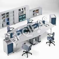 Office desk, Chairs, Racks etc.