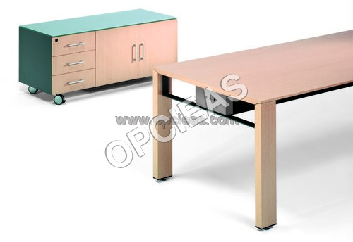Office Table and Rack