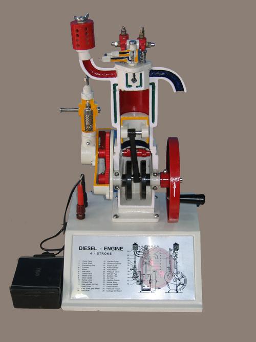 MODEL OF DIESEL ENGINE (4 STROKE)