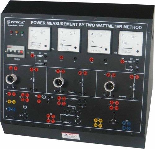 Power Measurement by Two Wattmeter Method