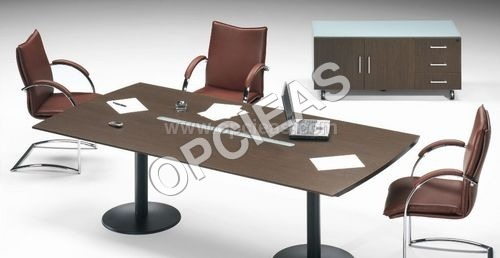 Confidential Meeting table with chairs.