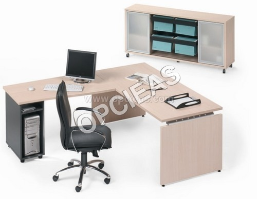 Office Desk and Rack