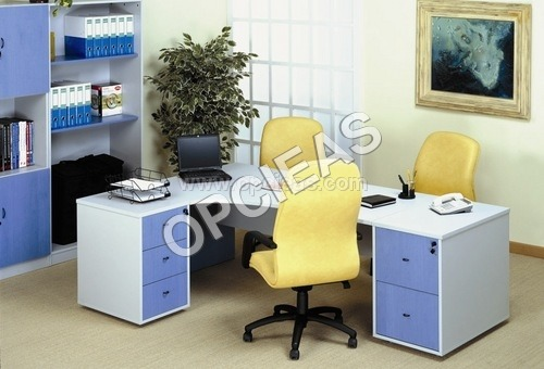 Office Desk, Chairs and Rack