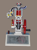 MODEL OF FOUR STROKE ENGINE
