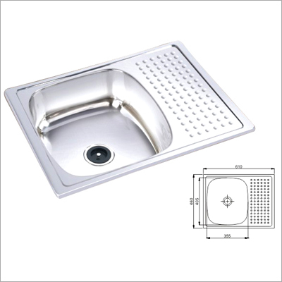 Kitchen Sink With Drainboard India   Review Home Co