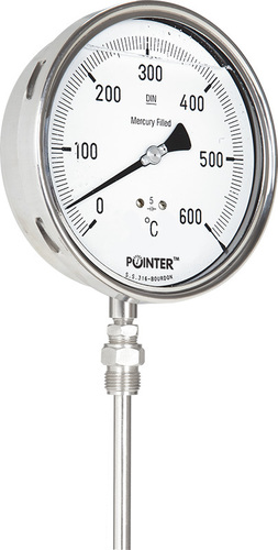 Gas Filled Temperature Gauges - Gas Filled Temperature
