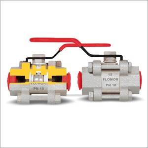 Screwed End Ball Valve -3PC CI/CS WCB