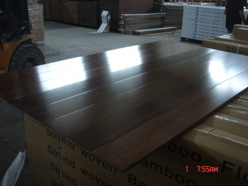 Engineered Bamboo Stained