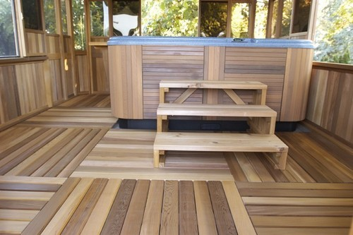 Exterior Wood Flooring