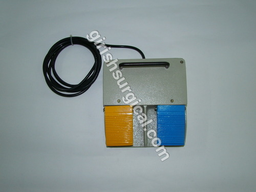 Double Paddle Foot Switch With Cut & Coag Mode