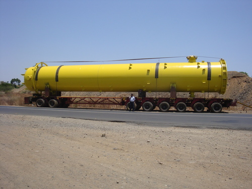 Industrial Gas Storage Tank