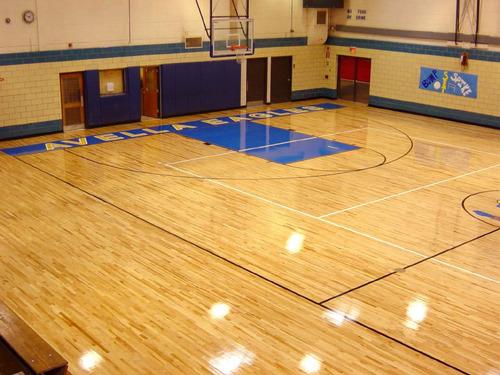 Polyurethane finish Sports surface