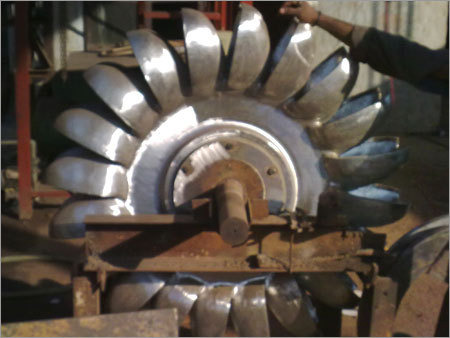 Pelton Runner Turbine