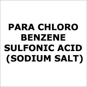 Para Chloro Benzene Sulfonic Acid(Sodium Salt)