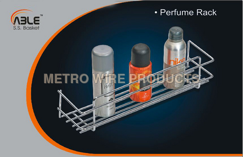 Stainless Steel Perfume Rack