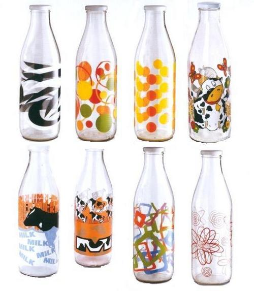 Printed Glass Bottles
