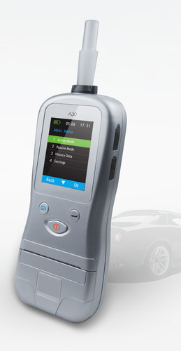 Alcohol Breath Analyzer with Inbuilt Printer
