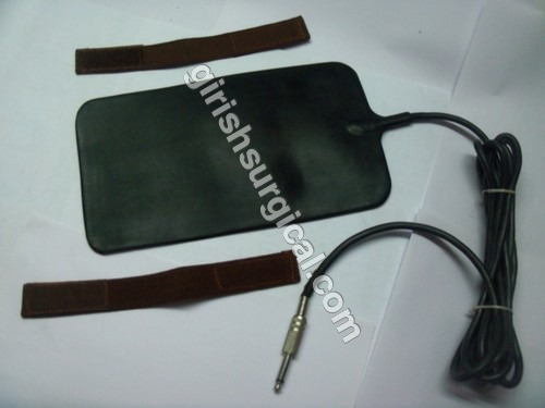 Silicon Patient Plate With Mono-pin Cable Cord