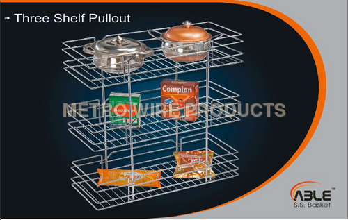 Three Shelf Pullout