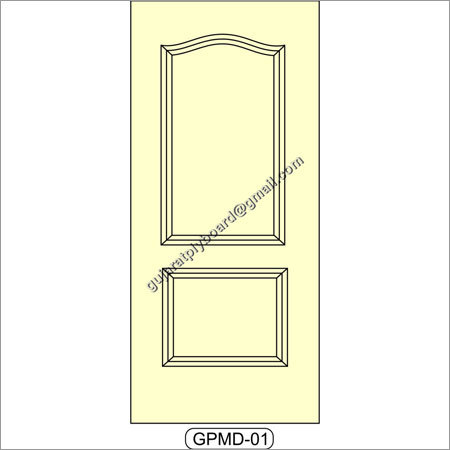 Decorative Moulded Panel Door
