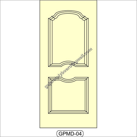 Fancy Mouled Panel Door