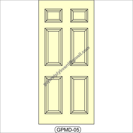 Mouled Panel Door