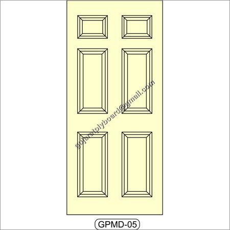 Mouled Panel Door