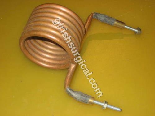 Seven Turn Copper Coil