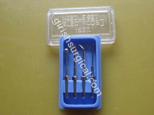 Electrodes (Needle set) FOR 250/300/400/500 WATT CAUTERY UNIT / MACHINE.