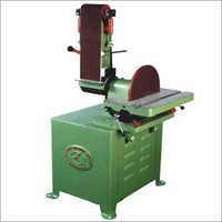 Belt And Disc Sander Machine