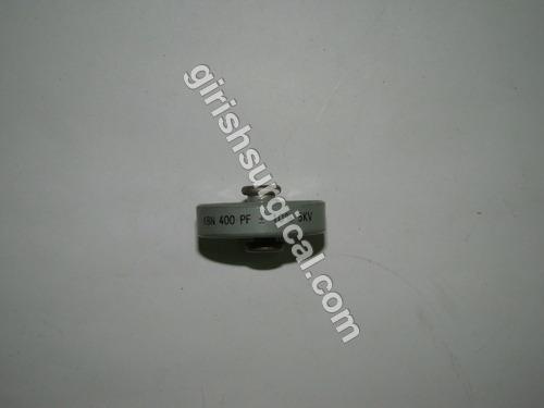 CAPECITORS 400 P.F (+/-) 10% 5kv.