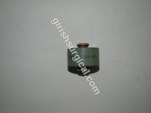CAPECITORS 110 P.F (+/-) 20% 6kv.