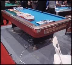 Imported American Pool Table (Crown)