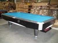 Imported American Pool Table (oval)