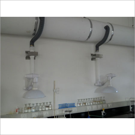 Wall Mounting Fume Extraction System