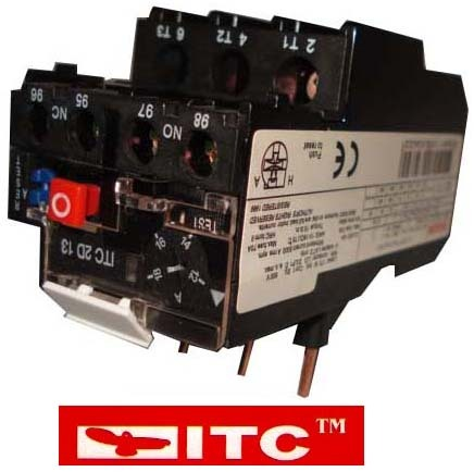 contactor thermal overload relay