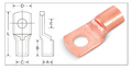 Tubular Cable Lugs - Copper Cable Terminals