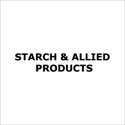Starch & Allied Products