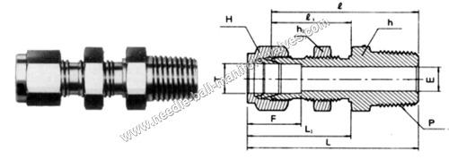 Bulkhead Male Connector