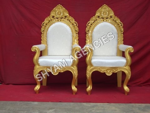 Golden Wedding Chair