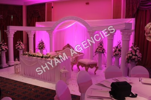 Punjabi Wedding Stage Set Up