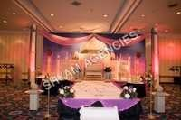 Painting Wedding Backdrop