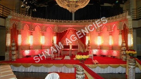 Raj Mahal wedding Stage