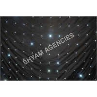 LED STAR CLOTH BACK DROP